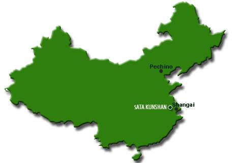 Kunshan China Map.Sata Kunshan